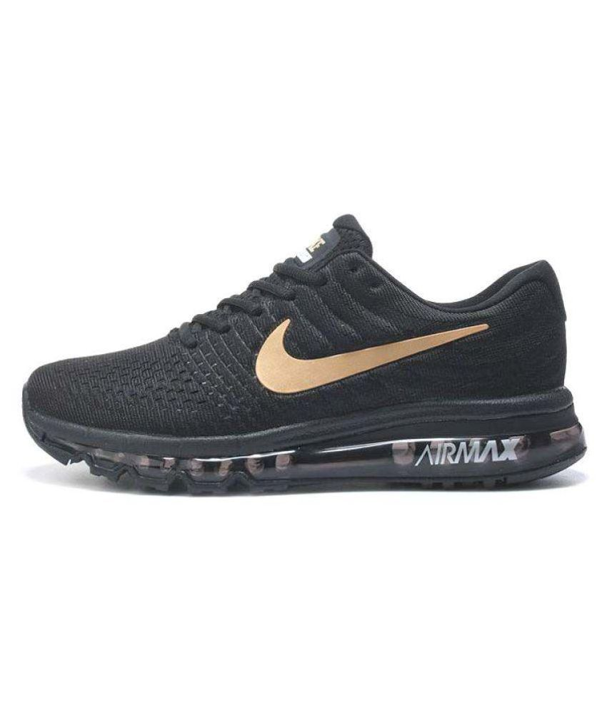hot new products release info on timeless design Nike AIR MAX 2018 Black Running Shoes - Buy Nike AIR MAX ...