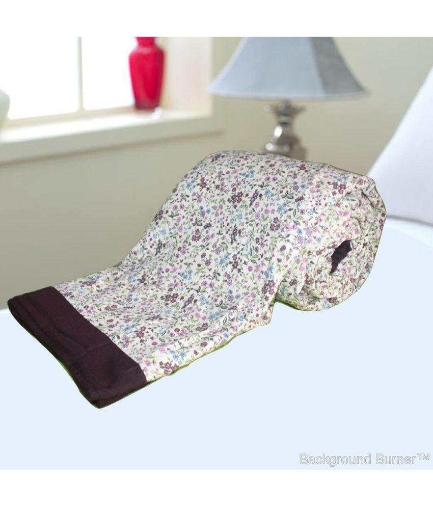 Elan Dreams Double Cotton Multi Contemporary Dohar Coordinated