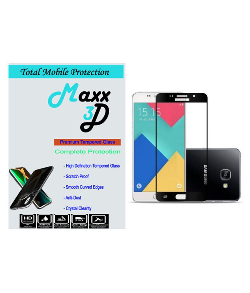 Samsung Galaxy A7 Tempered Glass Screen Guard By MAXX3D