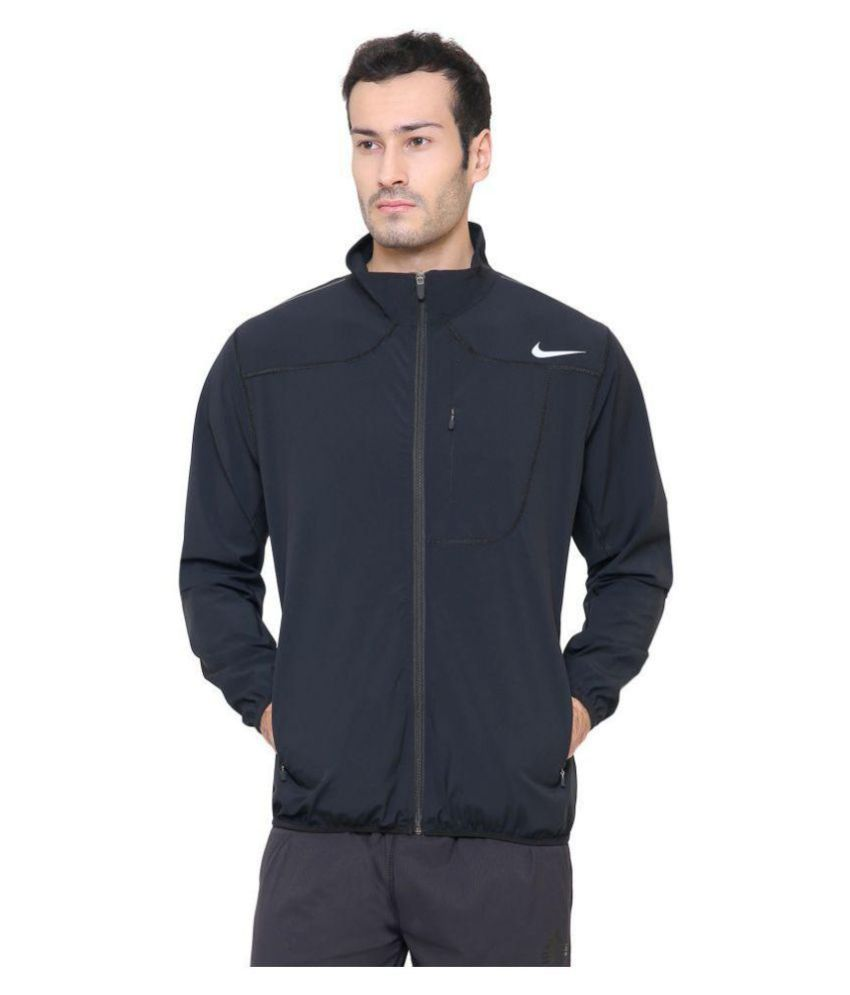 2eea78bc0 Nike Black Polyester Terry Jacket - Buy Nike Black Polyester Terry Jacket  Online at Low Price in India - Snapdeal
