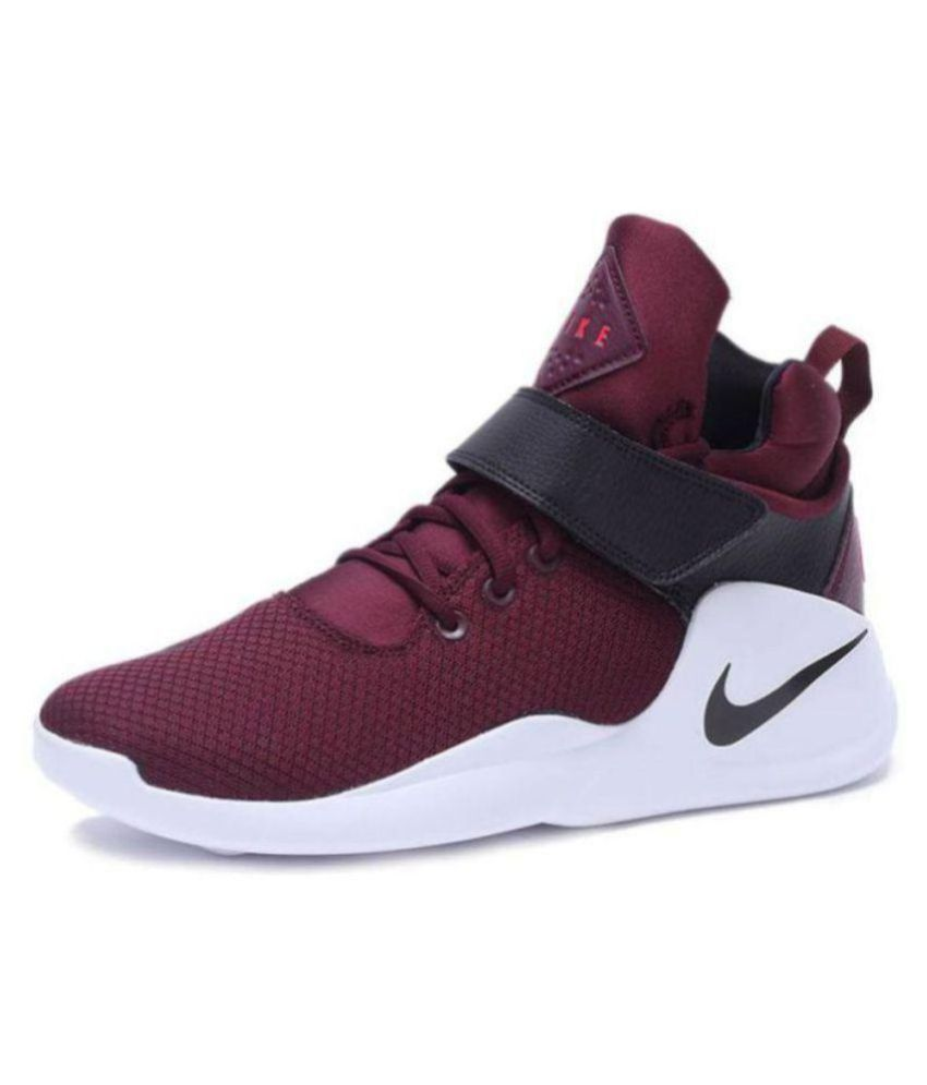 Nike Kwazi Maroon Basketball Shoes - Buy Nike Kwazi Maroon Basketball Shoes  Online at Best Prices in India on Snapdeal f691ba706