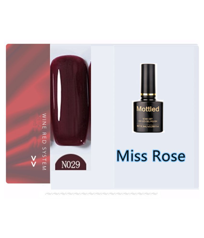 Miss Rose Nail Polish N029 As Picure Glossy 35g gm