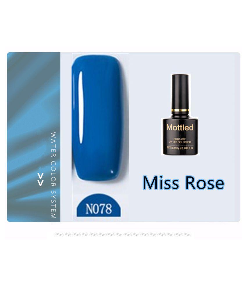 Miss Rose Nail Polish N078 As Picure Glossy 35g gm