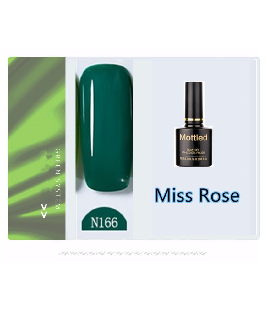 Miss Rose Nail Polish N166 As Picure Glossy 35g gm