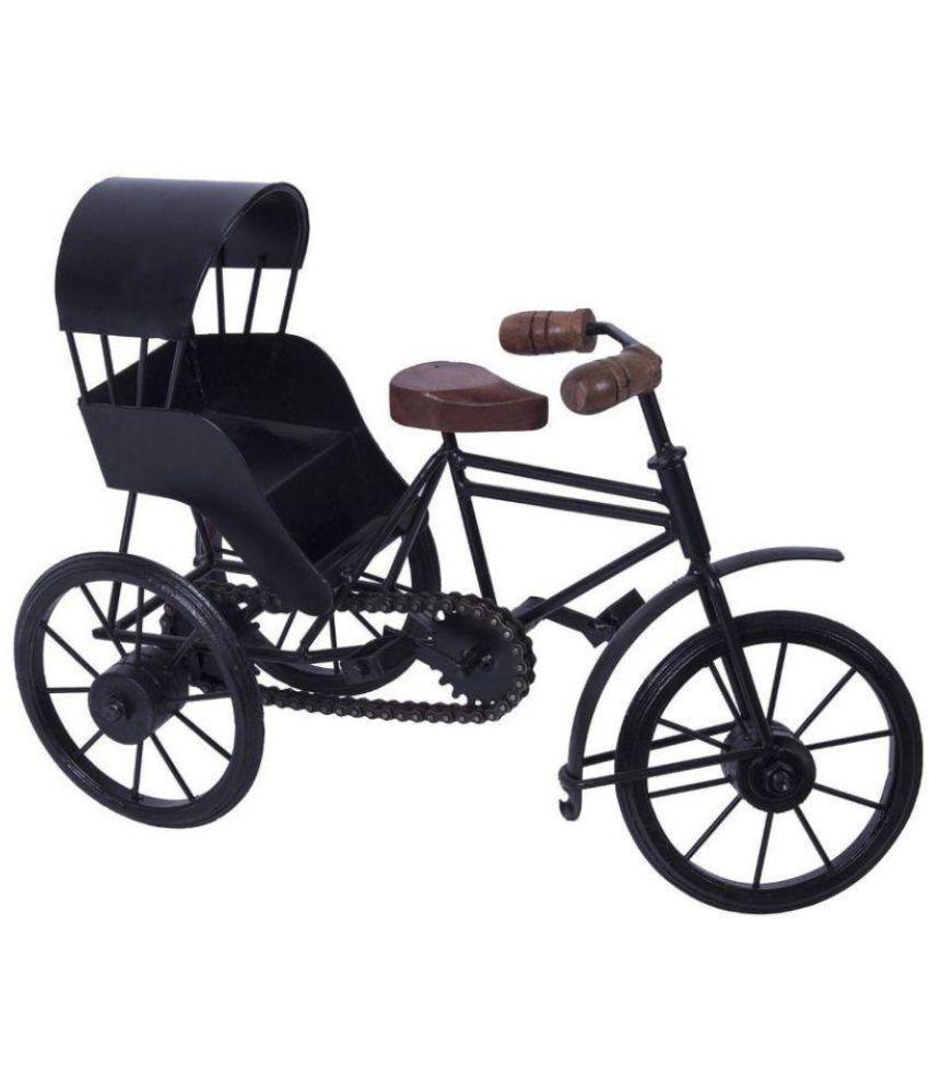 Dizardo Kraft Black Iron Basket - Pack of 1