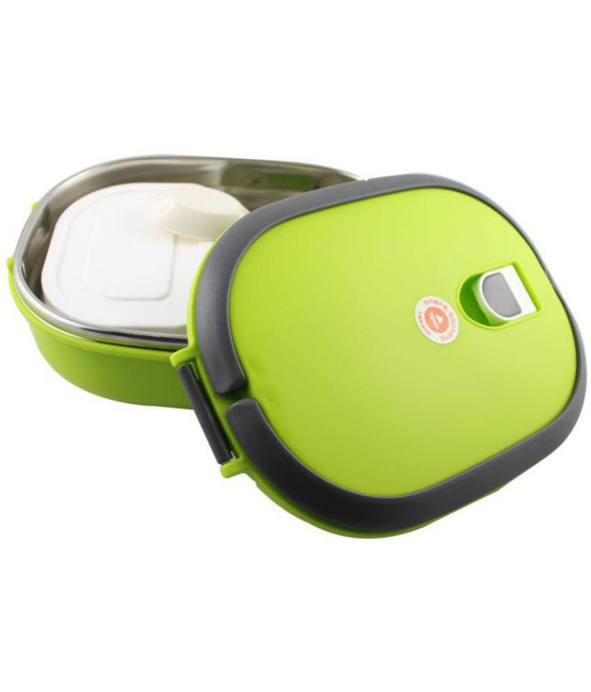 Jeeya Green Stainless Steel Lunch Box