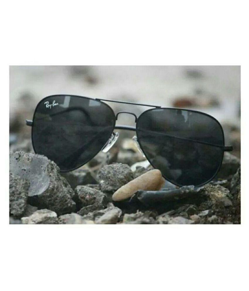 b729b84c10 Rayban 3517 Black Aviator Sunglasses ( BLKBLK3517 ) - Buy Rayban ...