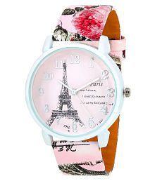 Paris Romantic Stylish Analog Watch For Womens/Girls