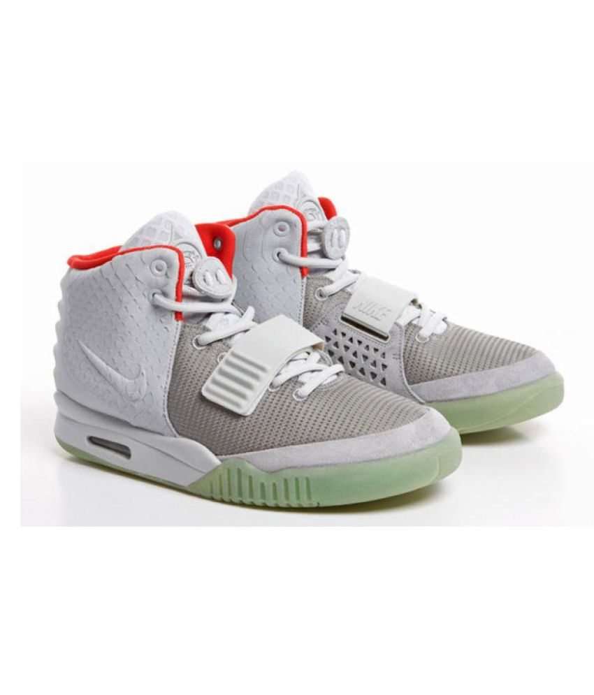 5b55c164d2bd3 NIKE SVM AIR YEEZY 2 Gray Training Shoes - Buy NIKE SVM AIR YEEZY 2 Gray  Training Shoes Online at Best Prices in India on Snapdeal