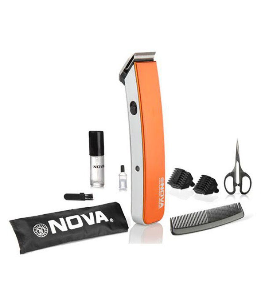 NOVA NHT-1047 Beard Trimmer ( Orange )