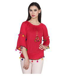 3a2fd07eb76 Red Tops for Women - Buy Red Women Tops Online at Low Prices in ...