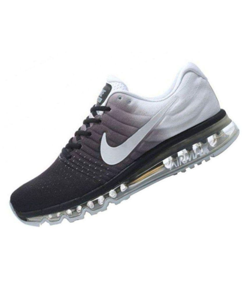 33571153e40c Nike Air Max 2017 White Running Shoes - Buy Nike Air Max 2017 White Running  Shoes Online at Best Prices in India on Snapdeal