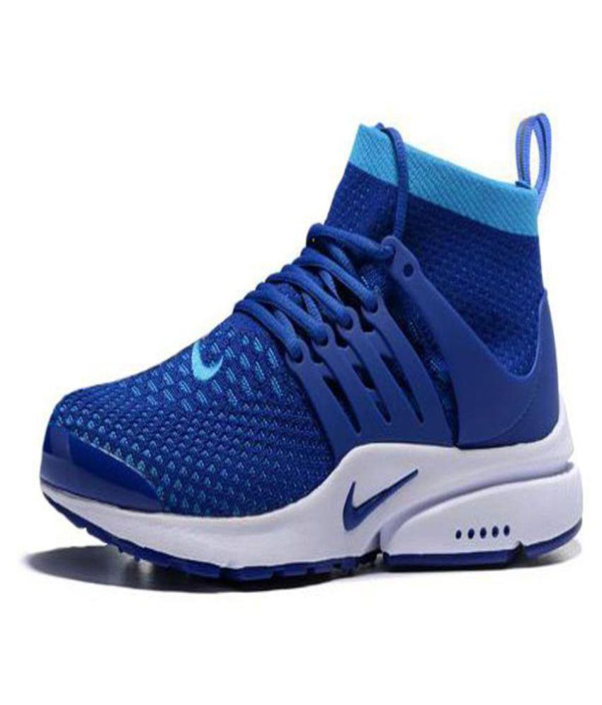 ... Nike Air Presto Ultra Flyknit Blue Running Shoes ...