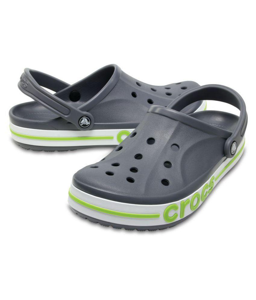 1649820fe87fd Crocs Bayabanda Green Floater Sandals Crocs Bayabanda Green Floater Sandals  ...