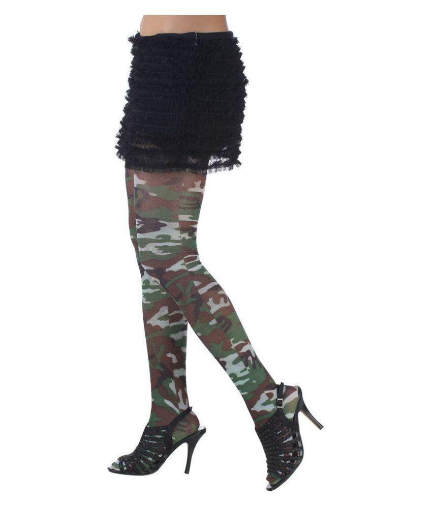 9018f53adbb Golden Girl Plain Black Sheer Panty Hose  Buy Online at Low Price in ...