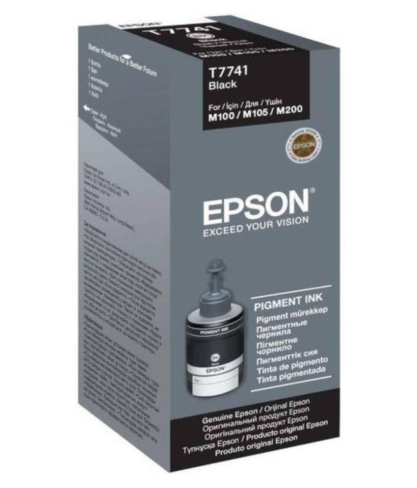 Epson Epson T7741 Black Ink Single