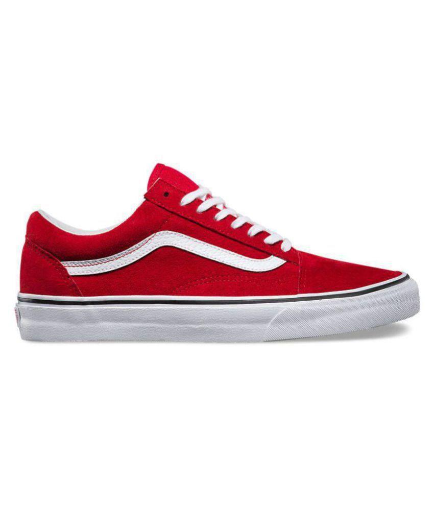 33547aaeec VANS Old Skool Red Casual Shoes - Buy VANS Old Skool Red Casual ...