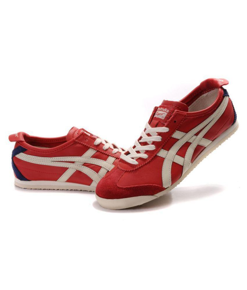 outlet store 77c9a 48532 Asics Onitsuka Tiger Mexico 66 Red Running Shoes