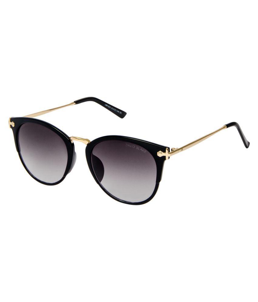 David Blake Grey Round Sunglasses ( L80023 )