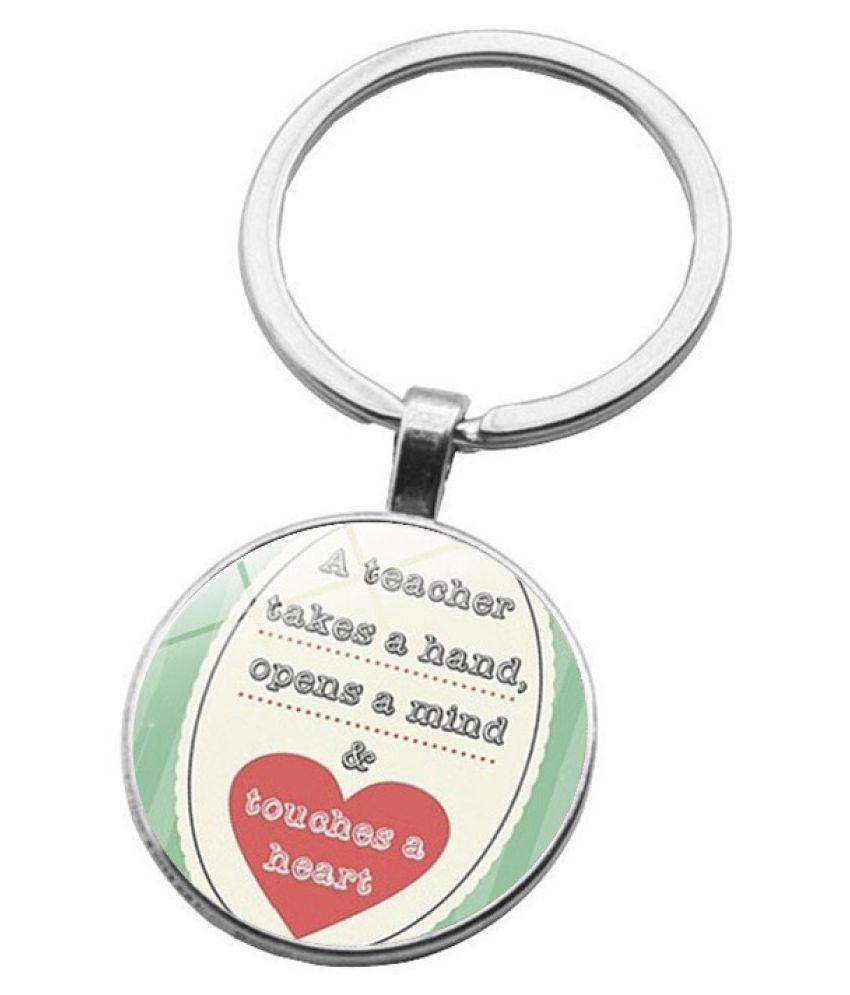 Kamalife Fashion Multi Color Zinc Alloy Bling Pendant Keychain Accessories Gift
