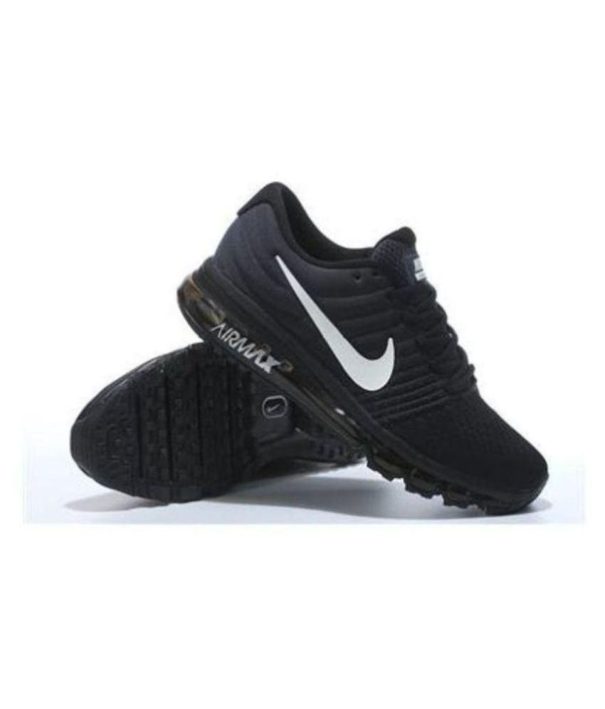 the latest 5094c 5d7f1 Nike Air Max 2018 Black Running Shoes