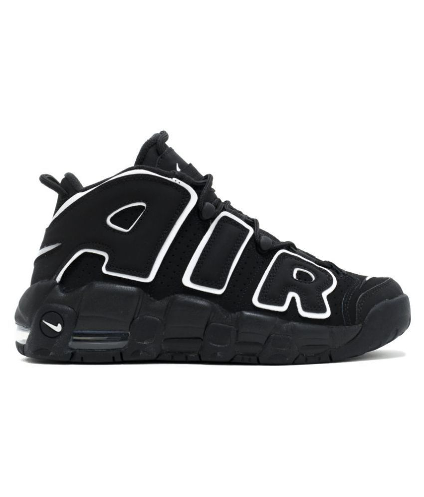 Nike Air UpTempo Black Basketball Shoes - Buy Nike Air UpTempo Black  Basketball Shoes Online at Best Prices in India on Snapdeal f58f3c929