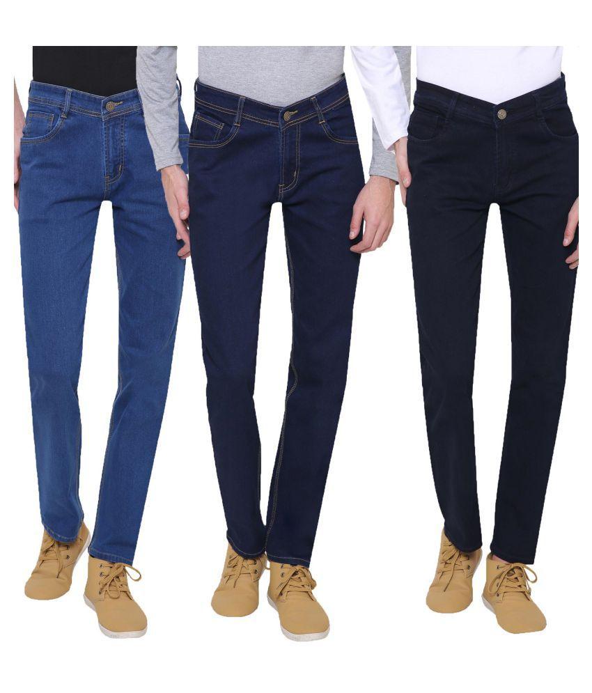 gradely Multi Regular Fit Jeans