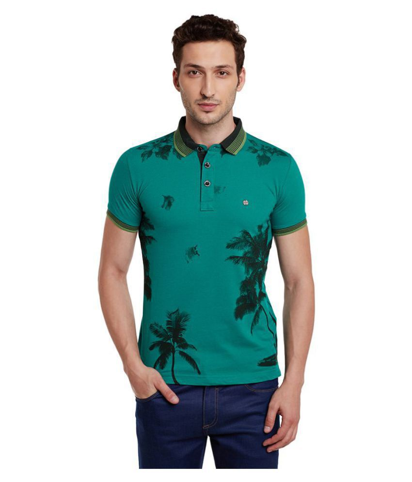 Duke Green Slim Fit Polo T Shirt
