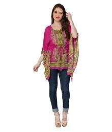 Secret Bazaar Rayon Kaftans - Pink