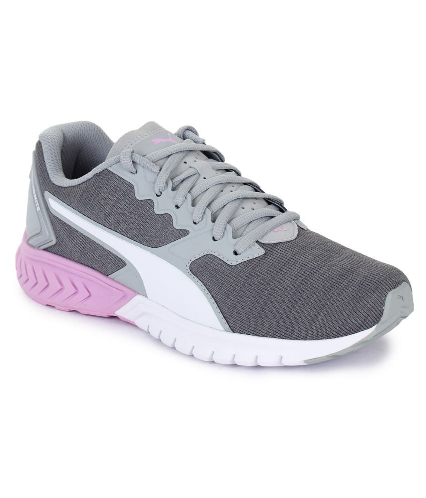 5daf6cf4e4f Puma IGNITE Dual NM Wns Running Shoes Gray  Buy Online at Best Price ...