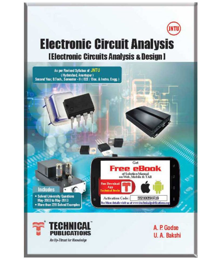 Electronic Circuits Electronics Circuit Analysis Free For Jntuha Ii Sem Ece 2013 Course English Paperback Uabakshi Apgodse