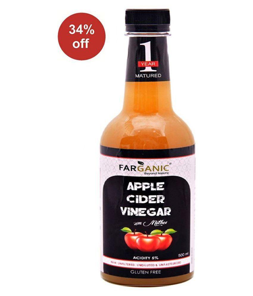 FARGANIC 1 Year Matured Cider Vinegar Apple Cider Vinegar 500 ml