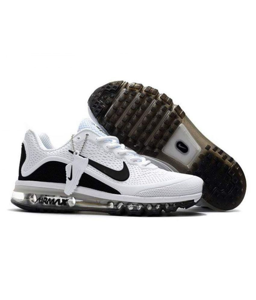 2e30e2e929a5c Nike Air Max 2017 .5 Premium SP White Running Shoes - Buy Nike Air Max 2017  .5 Premium SP White Running Shoes Online at Best Prices in India on Snapdeal