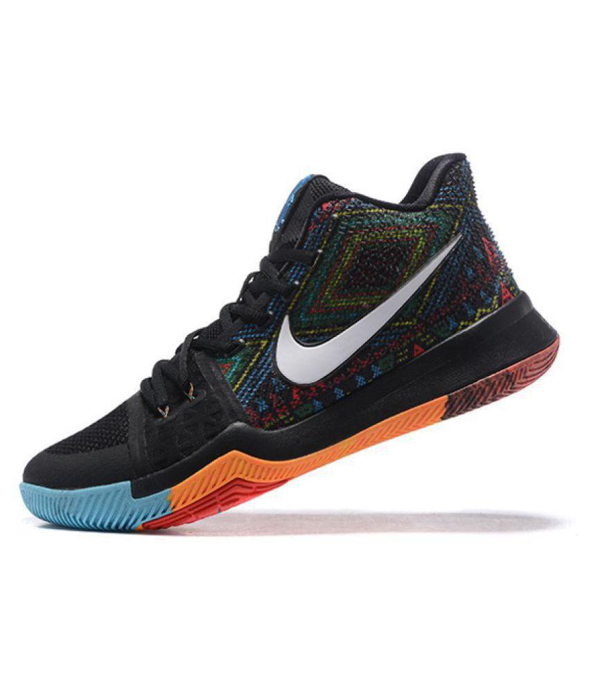 beb66113bf38 Nike Kyrie 3 BHM Multi Color Basketball Shoes - Buy Nike Kyrie 3 BHM ...