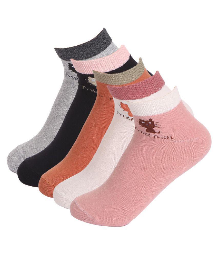 Women Thin Casual Non Slip Short Liner Ultimate Ankle Socks