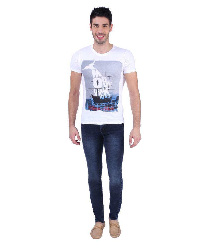Z.N.Z. Navy Blue Slim Jeans