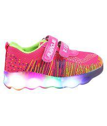 LNG Lifestyle Led Lights Shoes Boy & Girl (Pink)