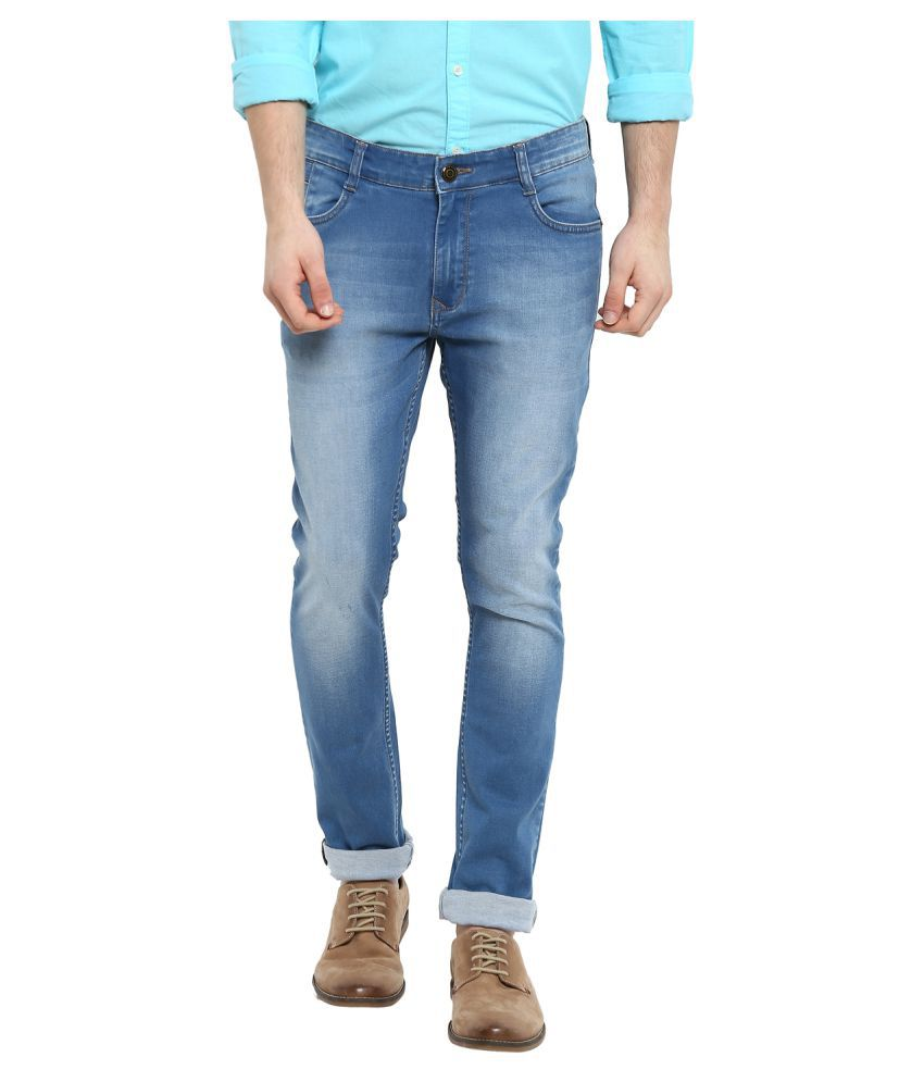 Parx Blue Skinny Jeans