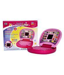 latest radhe Kids Educational Laptop (Pink)