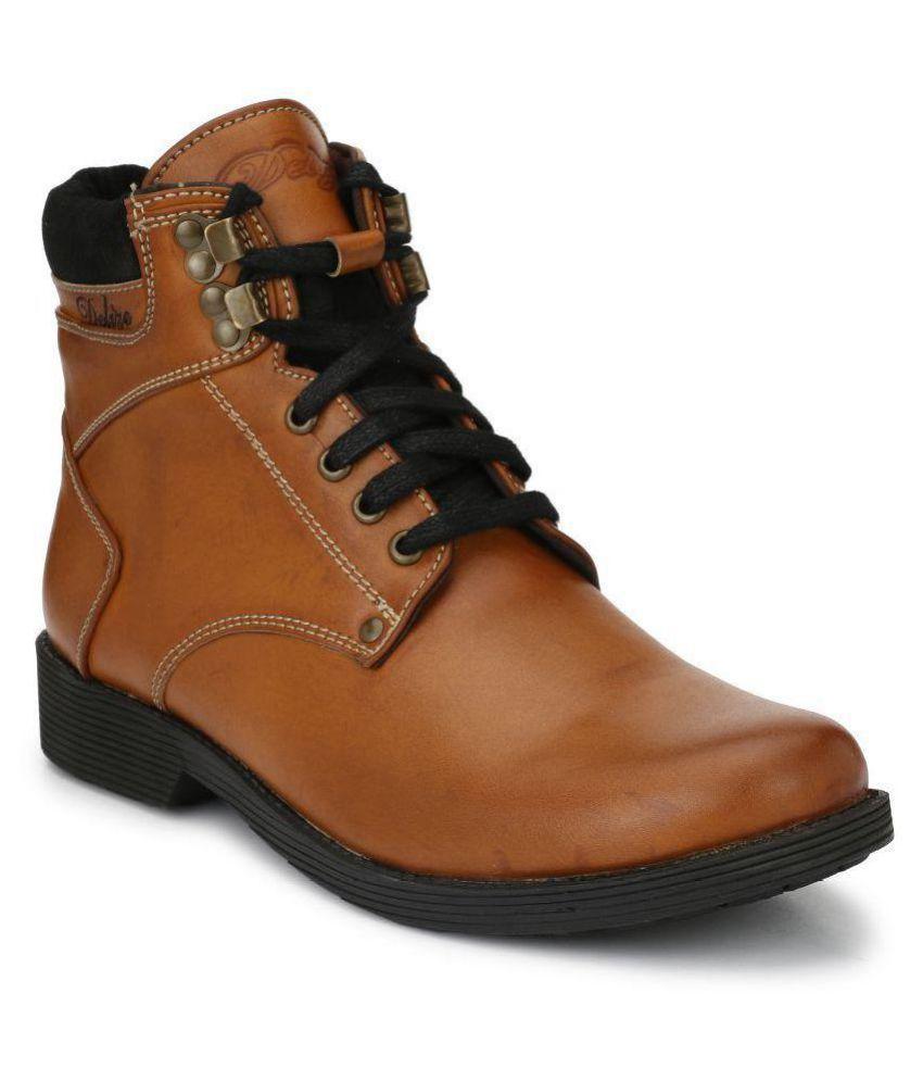 Delize Tan Casual Boot