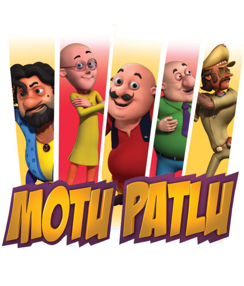 asian paints wall ons motu patlu xxl strike a pose removable cartoon