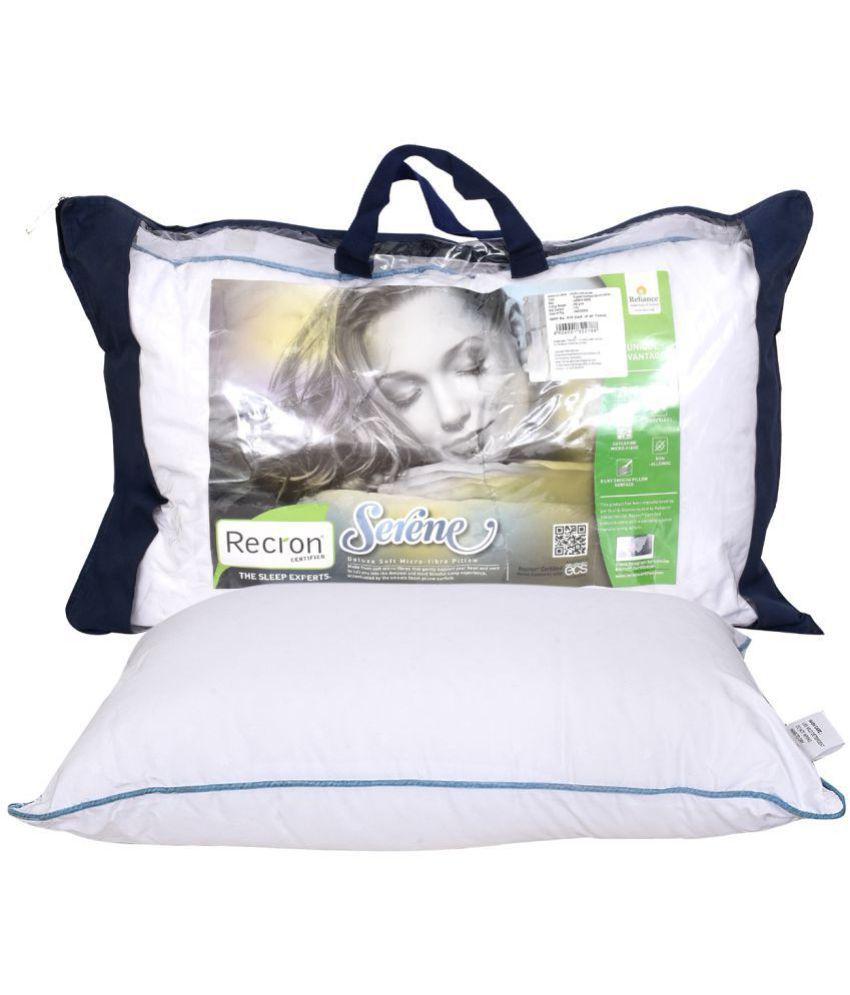 Recron Certified Single Fibre Pillow