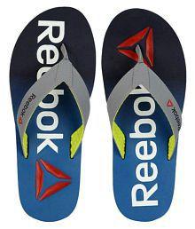 Reebok Gray Thong Flip Flop