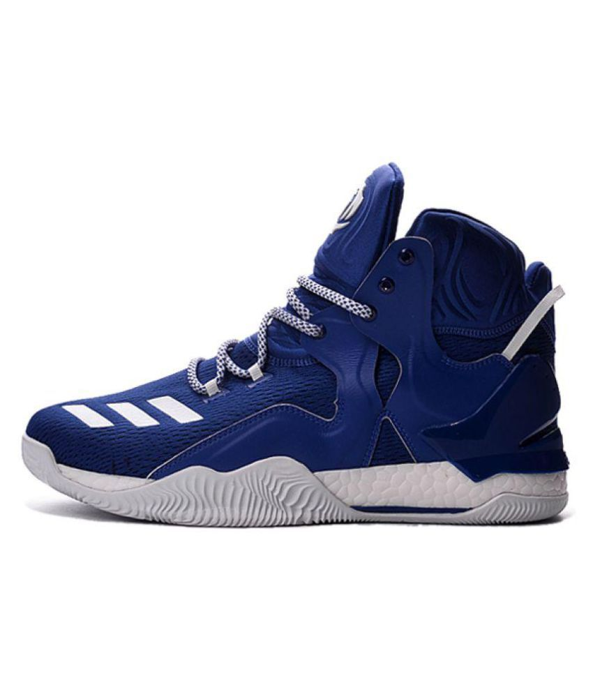 5a46268ea703 Adidas D ROSE 7 PRIMEKNIT Blue Basketball Shoes - Buy Adidas D ROSE ...
