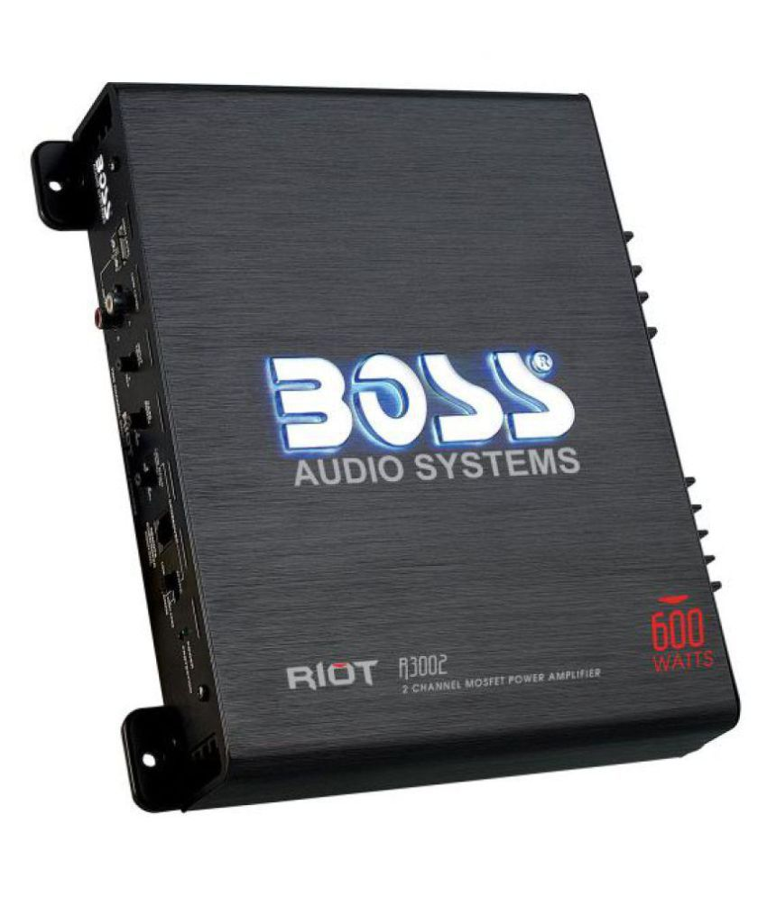 BOSS AUDIO SYSTEMS R3002 2-Channel Amplifier