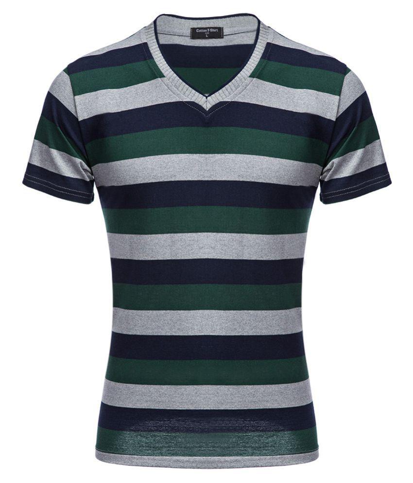 Whitleys Multi V-Neck T-Shirt
