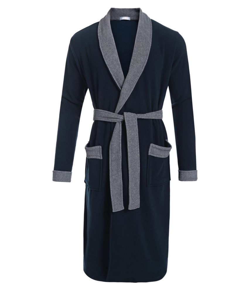 Generic Polyester Nightsuit Sets - Blue