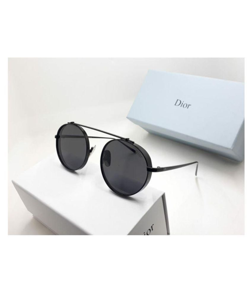 77a318345b DIOR SUNGLASS Black Round Sunglasses ( D8064 ) - Buy DIOR SUNGLASS Black  Round Sunglasses ( D8064 ) Online at Low Price - Snapdeal