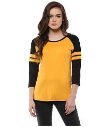 0afadd8a Yellow Tees & Polos: Buy Yellow Tees & Polos Online at Best Prices ...