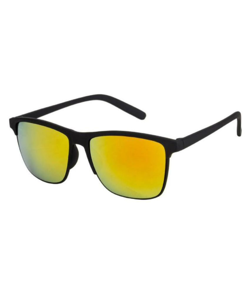 Honey Boney Yellow Clubmaster Sunglasses ( 2149 )